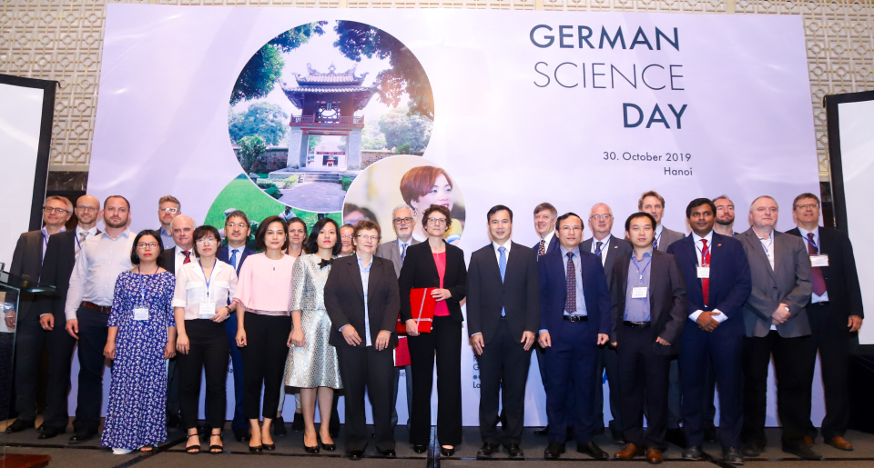 Participants at the 3rd German Science Day in Vietnam