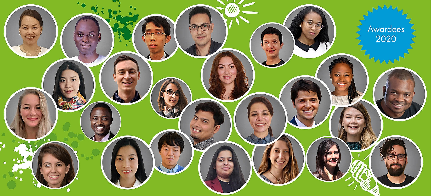 Green Talents Awardees 2020