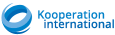logo of the web portal Kooperation international