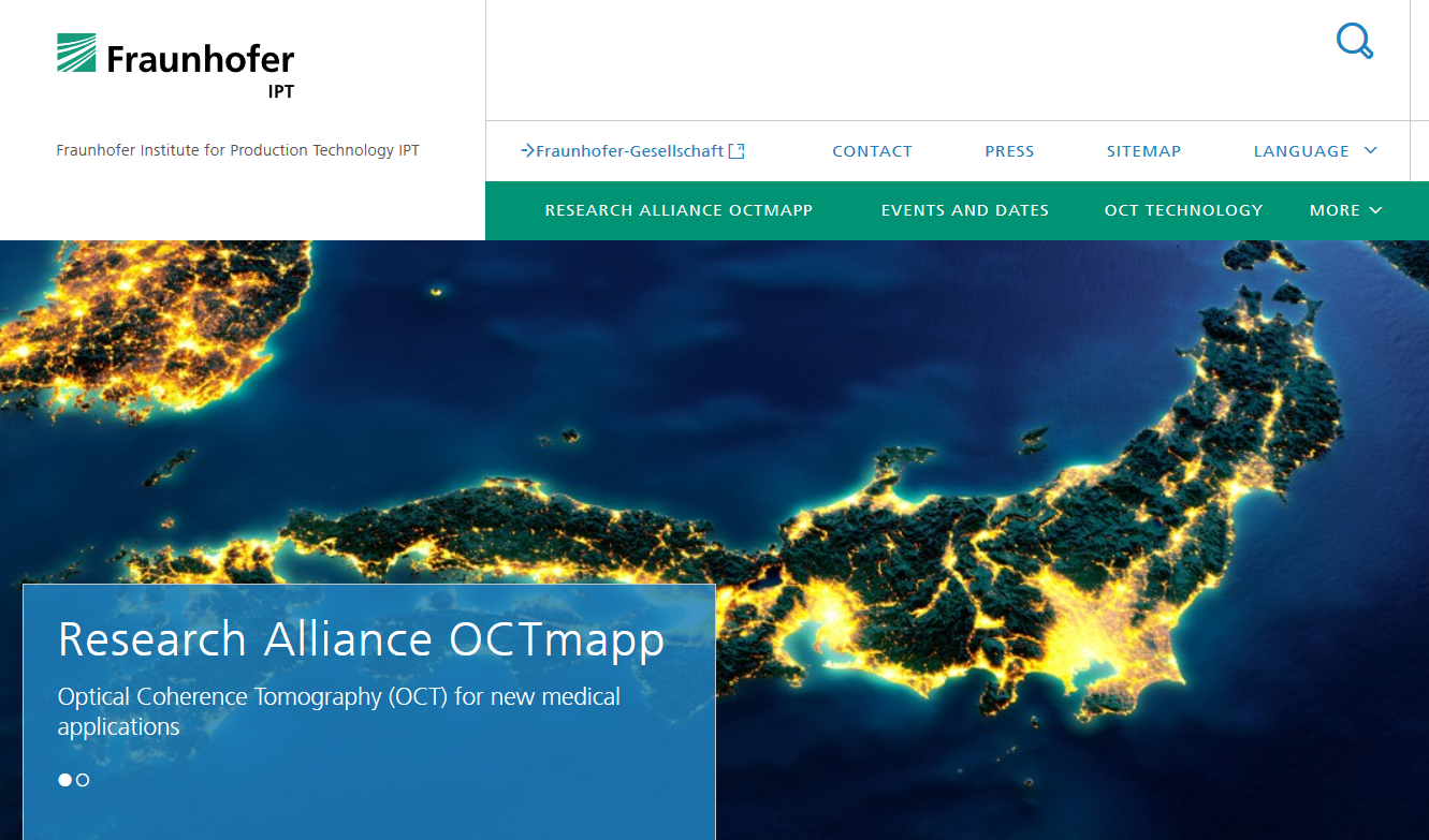 OTCmapp website