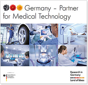 Cover Brochure - Partner for Medical Technology