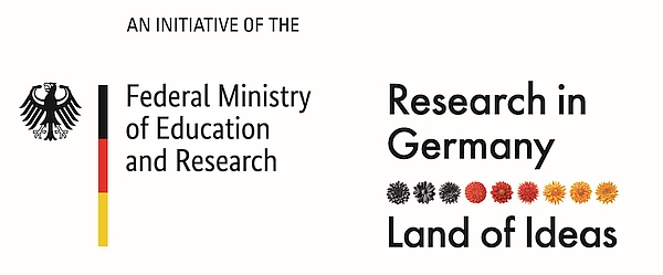 Doppellogo BMBF und Research in Germany