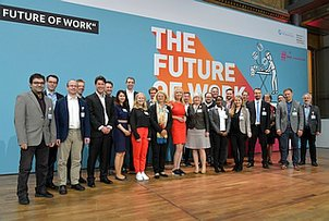 Network Representatives at the BMBF Forum The Future of Work on 21 and 22 May 2019 in Berlin