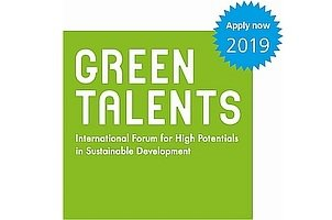 Logo Green Talents 2019