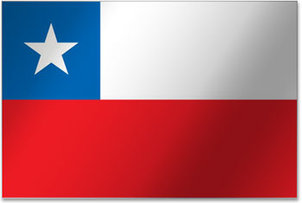 Flagge Chile