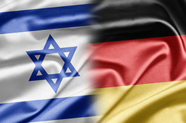 German and Israel Flag
