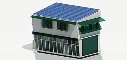 Energieeffizientes Bauen Musterhaus In Malaysia Internationales Büro