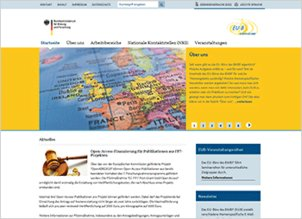 Screen Website of the EU-Bureau
